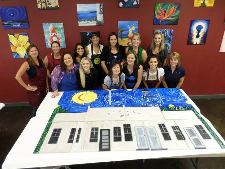 Team Building Events at Painting With A Twist