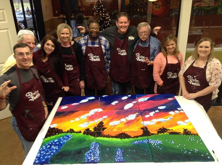 Team Building at Painting With A Twist