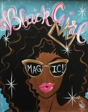 Black Girl Magic Art