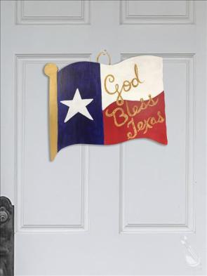 Texas Flag Wood Cutout