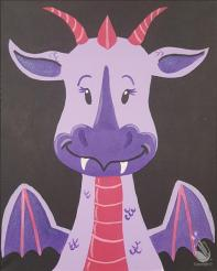 Beckys Dragon Draco Painting