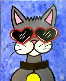 Cool Cat Painting