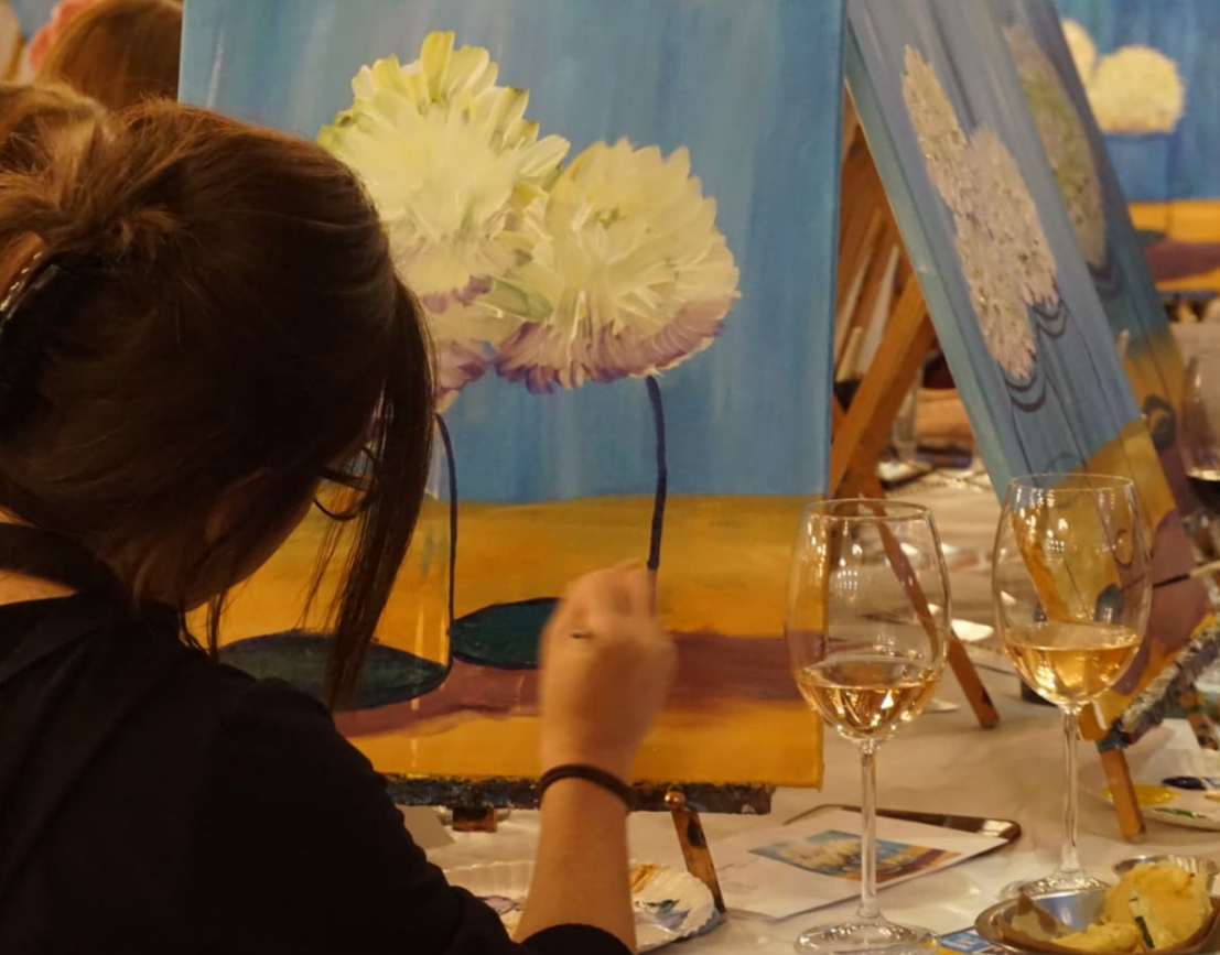 "Feature Repost: ""Artsy Houston Party Event Plucks Out Your Inner Picasso"""