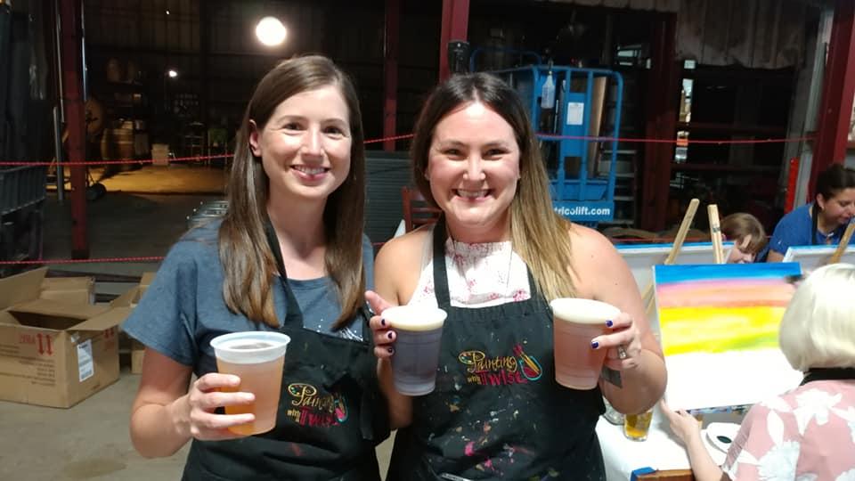 Event Recap: Paint & Sip pARTy at No Label BrewingCo.