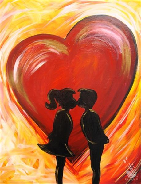Seats Now Open at Painting with a Twist Houston February Paint pARTies!