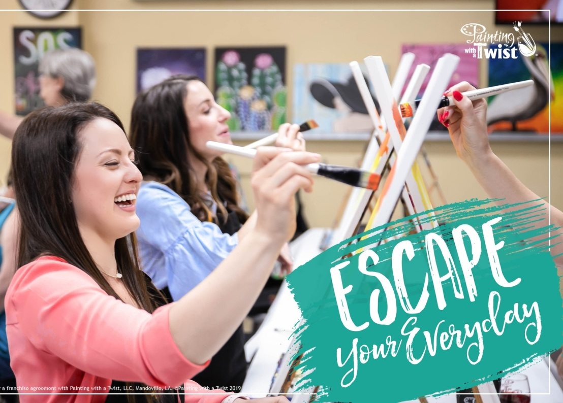 Escape Your Everyday With a Paint pARTy